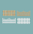 set of the different wood vector image vector image