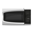 microwave oven 01 vector image
