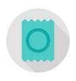 condom circle icon vector image