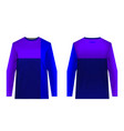 jersey design sportwear vector image