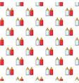 mustard ketchup bottle pattern seamless vector image vector image