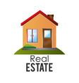Real estate design vector image vector image