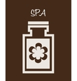 spa therapy design vector image vector image