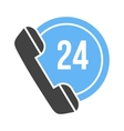 Twenty-Four Hours Call vector image