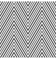 Zizag pattern - seamless vector image vector image