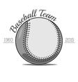 Baseball Ball label vector image