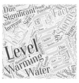 Global Warming and the Significance of Rising vector image vector image