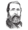 henry chadwick vintage vector image vector image