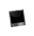 Love polaroid vector image vector image
