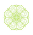 Round decorative floral mandala element vector image vector image