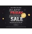 Black Friday Super Sale vector image
