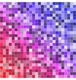 Abstract digital colorful pixels seamless pattern vector image vector image