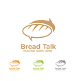Bread Talk Logo vector image
