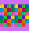 colorful pattern from on background cutting vector image