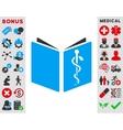 Drug Handbook Icon vector image vector image