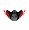 elevation training mask isolated sports accessory vector image vector image
