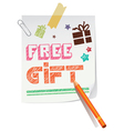 Free gift paper
