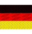 german brick wall vector image vector image