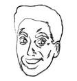 man face pop art cartoon vector image vector image