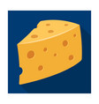 rustic homemade cheese homemade homemade dairy vector image