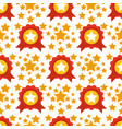 seamless pattern with stars award decorative vector image vector image