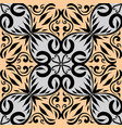 vintage floral seamless pattern hand drawn vector image vector image