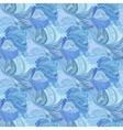 Winter frozen glass seamless pattern background vector image