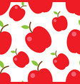 colorful fruits seamless pattern vector image