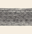 grunge brush painted horizontal lines seamless vector image vector image