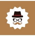 Hipster fashion lifestyle vector image vector image