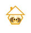 in love bee vector image vector image