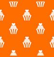 love cupcake pattern seamless vector image vector image