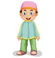 Muslim man vector image vector image