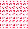 pink gemstones jewels seamless pattern vector image