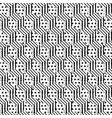 seamless pattern cubes vector image