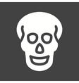 Skull X-ray vector image vector image