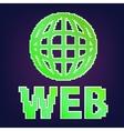 symbol of internet vector image vector image