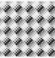 abstract black and white diagonal square pattern vector image vector image