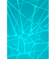 abstract glowing mint background vector image vector image
