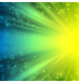 abstraction lens flare background vector image vector image