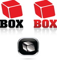 Box 03 resize vector image vector image