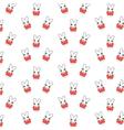bunny pattern vector image vector image