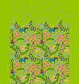 floral vintage seamless pattern retro plants vector image vector image