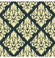 Geometric bold arabesque pattern vector image