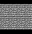 leopard repeat pattern vector image vector image