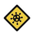 pandemic stop novel coronavirus outbreak covid-19 vector image vector image