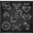 Retro Design Chalkboard vector image vector image
