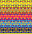 seamless pattern simple geometrical design vector image