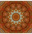 Abstract autumn mandala ethnic tribal pattern vector image vector image