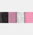 abstract crocodile skin seamless patterns set vector image